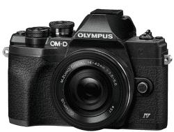 Olympus OM-D E-M10 Mark IV čierny + 14-42 mm f/3,5-5,6 EZ-M1442EZ Pancake