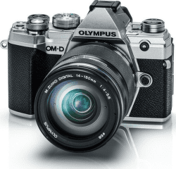 Olympus E-M5 Mark III + 14-150 mm EZ strieborná