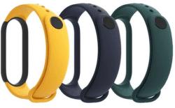 Xiaomi Mi Band 5 3 ks remienkov modrá/žltá/zelená