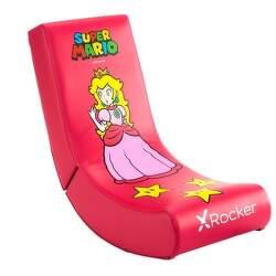 X Rocker - Nintendo Peach ružové