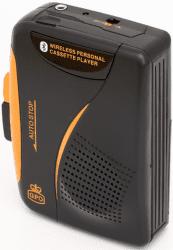 GPO GPO100 čierno-oranžový walkman