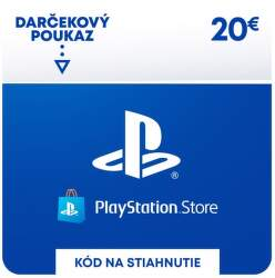 PlayStation Store 20 eur - Digitálny produkt