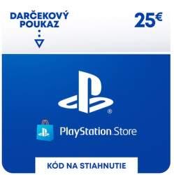 PlayStation Store 25 eur - Digitálny produkt
