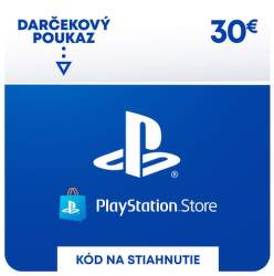 PlayStation Store 30 eur - Digitálny produkt