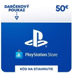 PlayStation Store 50 eur - Digitálny produkt