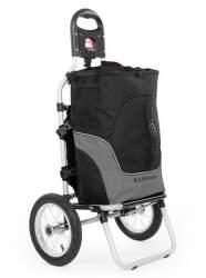 Duramaxx Carry Grey príves na bicykel sivý