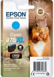 Epson 378 XL Cyan (C13T37924010) azúrová