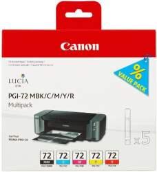 Canon PGI-72 MBK/C/M/Y/R Multi Pack