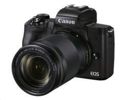 Canon EOS M50 Mark II + EF-M 18-150 mm čierny