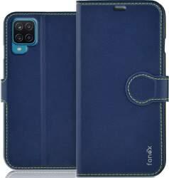 Fonex Identity knižkové puzdro pre Samsung Galaxy A12 modrá