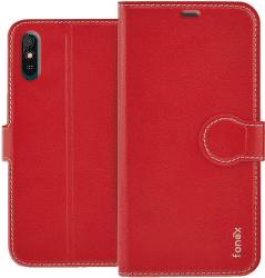 Fonex Book puzdro pre Xiaomi Redmi 9A/9AT červené