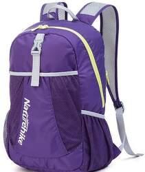 Naturehike 22l 190g športový zbaliteľný batoh fialový