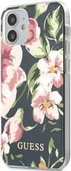 Guess puzdro pre Apple iPhone 12 mini kvetinový motív