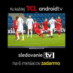 SledovanieTV na 6 mesiacov zadarmo k TV a soundbarom TCL a k TV Thomson