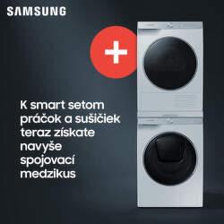 Spojovací diel k setom práčky a sušičky Samsung