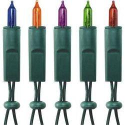 Vianočné žiarovky KI100 farebné