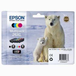 EPSON T2636 26XL color (ľadový medveď) - atrament