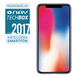 Apple iPhone X 256GB vesmírne sivý