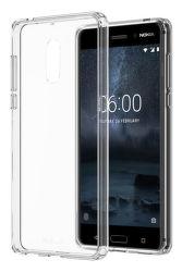 Nokia Hybrid Crystal Case pre Nokia 6, transparentné