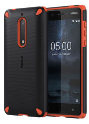 Nokia Rugged Impact Case pre Nokia 5, oranžovo čierne