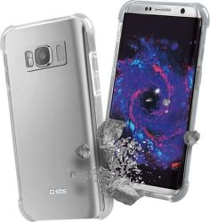 SBS Hard Shock puzdro pre Samsung Galaxy S8, transparentné