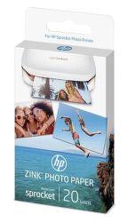 HP ZINK W4Z13A 5x7.6 cm, 20 ks