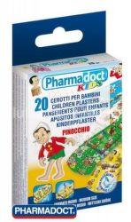 Megaplast Pharmadoct Kids Pinocchio detská náplasť (20ks)
