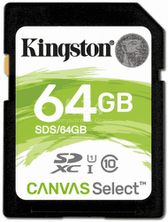 Kingston SDXC Canvas Select 64 GB UHS-I