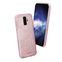 SBS Sparky Glitter puzdro pre Samsung Galaxy S9+, ružová
