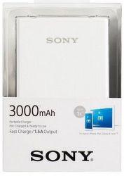 Sony CP-E3W2 powerbanka 3000 mAh, biela