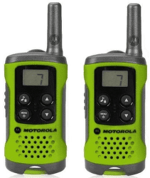 Motorola TLKR T41 vysielačka zelená