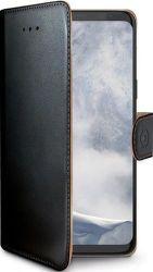 Celly Wally knižkové puzdro pre Samsung Galaxy S9, čierna