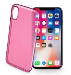 Cellular Line Fine glové puzdro pre iPhone X, ružová