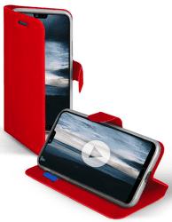 SBS Book Sense puzdro pre Huawei P20, červená