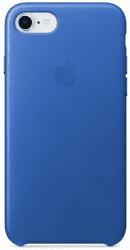 Apple kožený kryt pre iPhone 8 a 7, elektro modrý