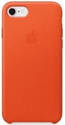 Apple kožený kryt pre iPhone 8 a 7, jasne oranžový