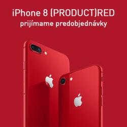 Prijímame predobjednávky na iPhone 8 (PRODUCT)RED