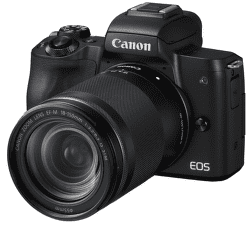 Canon EOS M50 čierny + EF-M 18-150mm IS STM