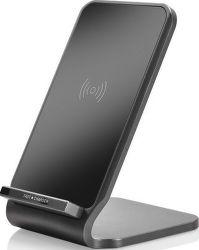 Ja Electronics Fast Charge bezdrôtový nabíjací stojan, čierny