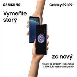 Získajte k Samsung Galaxy S9 až do 400 € za starý telefón