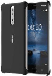 Nokia Soft Touch puzdro pre Nokia 8, čierna