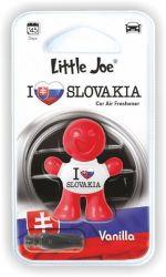 Little Joe I love Slovakia osviežovač do auta