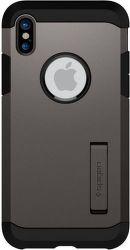 Spigen Tough Armor puzdro pre Apple iPhone X, metal
