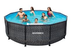 Marimex Florida 3,66 m bez filtrácie ratan