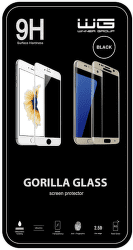 Winner ochranné tvrdené sklo 3D iPhone 8, čierna