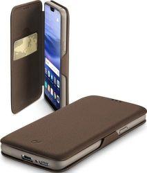 Cellularline Book Clutch puzdro pre Huawei P20 Lite, hnedé