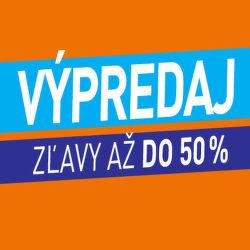 Výpredaj - zľavy až do 50%