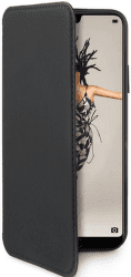 Celly Prestige knižkové puzdro pre Huawei P20, čierna
