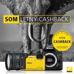 Cashback až do 300 € na produkty Nikon