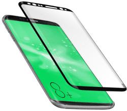 SBS 4D tvrdené sklo pre Samsung Galaxy S8+, čierne